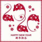 Chinese New Year 2020 Rat