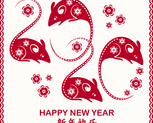 Chinese New Year 2020 Rat
