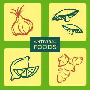 Antiviral Foods